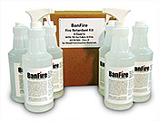 Fire Retardant Spray Kit